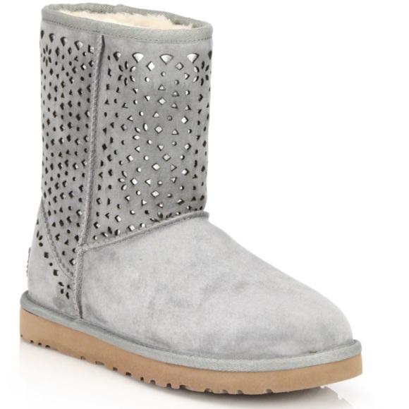 e256cc0e8b5 Ugg Classic Flora Perforated Boots